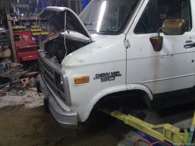 Img on Chevy Astro Van Engine Swap